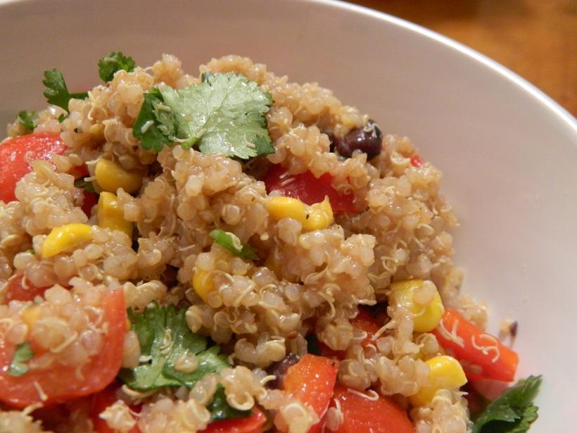 Southwest Confetti Quinoa Salad