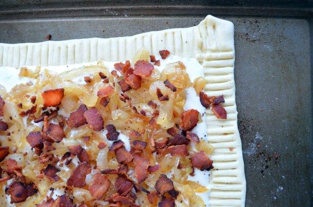 Honey-Caramelized Onion Tart