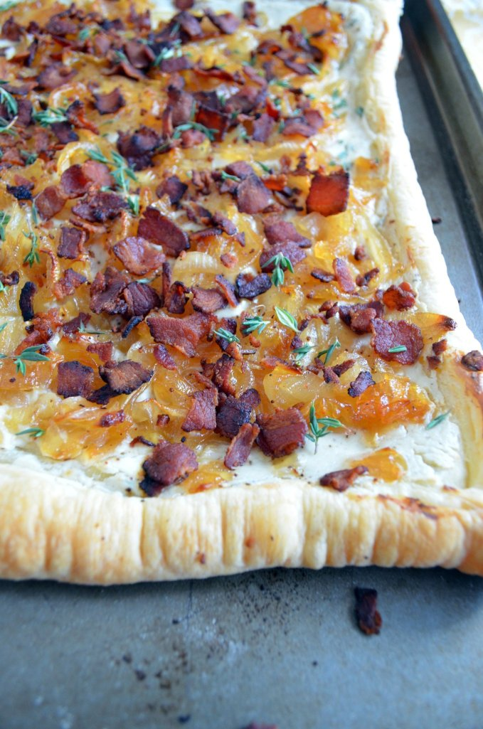 Honey-Caramelized Onion Tart