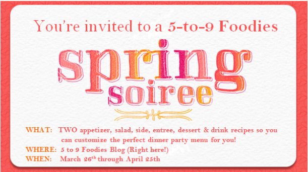 Spring Soiree Invite