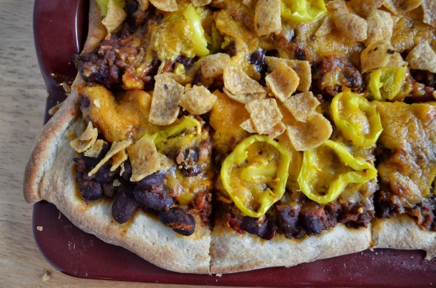 Hearty Chili Pizza